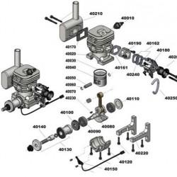 CRRCpro GF40i Gas Engine