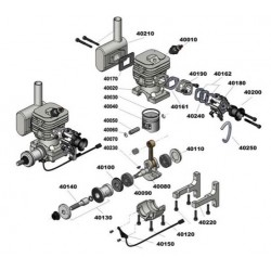 CRRCpro GF40i Gas Engine
