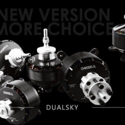 Dualsky GA800 Motors 2nd Generation Giant Airplane Series