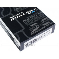 Dualsky 130A Xcontroller BA brushless and sensorless ESCs
