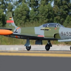 Freewing T-33 Shooting Star German 80mm EDF Jet ARF with Servos