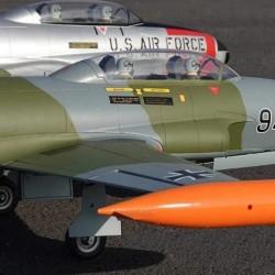 Freewing T-33 Shooting Star German 80mm EDF Jet ARF with Servos