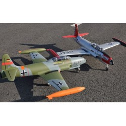 Freewing T-33 Shooting Star USAF 80mm EDF Jet ARF with Servos
