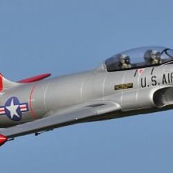 Freewing T-33 Shooting Star USAF 80mm EDF Jet ARF with Servos