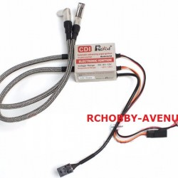 Rcexl LV Type Twin Cylinders CDI Ignition Igniter NGK-ME8 1/4-32 120 Degrees