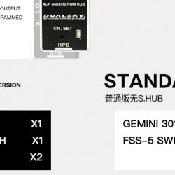 Dualsky GEMINI 3018 Redundant Power Distribution