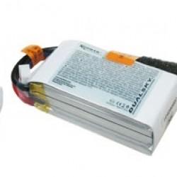 Dualsky XP08003GT-S Lipo Battery x2