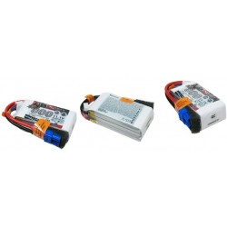 Dualsky XP08003GT-S Lipo Battery x2