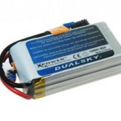 Dualsky XP13003ES Lipo Battery x2