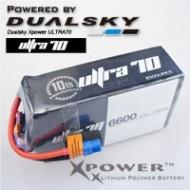 Dualsky XP660052ULT Lipo Battery