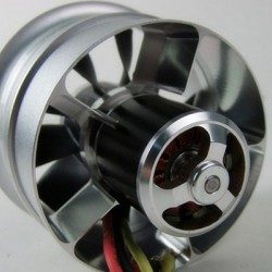 RC Lander EDF Dynamic Power Series Cone Style 80mm 10 blade with 1800KV Motor