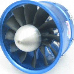RC Lander EDF New Dynamic V3 90mm Ducted fan 12 Blade with Motor for 6S 8S 10S and 12S Lipo