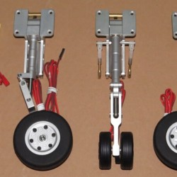 JP Hobby 10mm and 12mm Scale Metal Oleo Struts Set with Retracts with Wheels with Brakes for Turbo Model