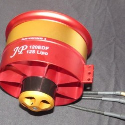 JP Hobby 120mm Full Metal Ducted Fan With Motor 10S, 12S, 14S, 18S