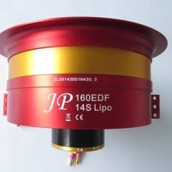 JP Hobby 160mm 14S Full Metal Ducted Fan With Motor
