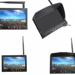 HIEE 7'' FPV Monitor Built-in 32ch 5.8G Receiver