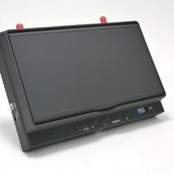 Skyzone Sky-702 5.8Ghz Diversity 7'' LCD Monitor Dual Receiver