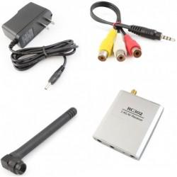 Boscam 2.4G Wireless FPV AV 8Ch Receiver RC302+ Mini CMOS