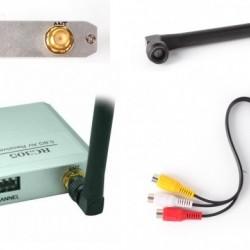 Boscam RC305 5.8G 8Ch Wireless AV Receiver with Antenna