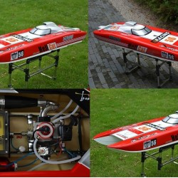 Hellcat RC Racing Gas Boat
