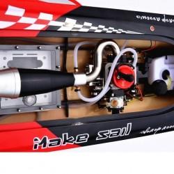 Pioneer High Speed RC Racing Gas Boat