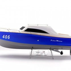 Police Marine RC Electric Boat  ARTR