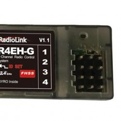 Radiolink R4EH-G 4CH High Voltage Gyro Receiver For Radiolink RC3S and RC4G Transmitter