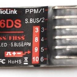 Radiolink R6DS Dual 6CH Receiver for Radiolink Transmitter AT9 AT10