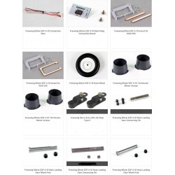 Freewing A-10 RC Plane Parts