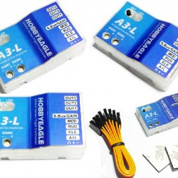 Hobby Eagle A3-L V1 and V2 Flight Controller for RC Plane