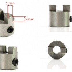 Drive Dog Outer Dia. =12mm for RC Boat x 4