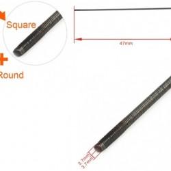 Flexible Axle (Round & Square) Positive Dia. =φ4.76 x 4