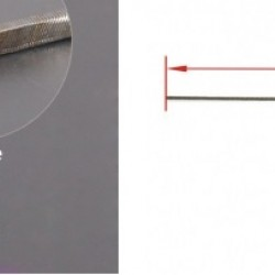 Flexible Axle (Round & Square) in Reverse Length=500mm x 4