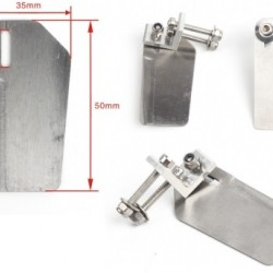 Stabi Length=25mm Height=50mm for RC boat (a pair)