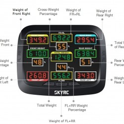 SKYRC Corner Weight System for Serious Racers