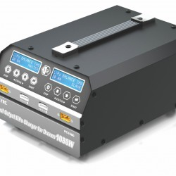 SKYRC PC1080 Dual Channel Lithium Battery Charger 1080W 20A with Free Data Cable