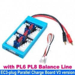 Parallel Charging Board with EC3 Plug and with PL6 PL8 Balance Line