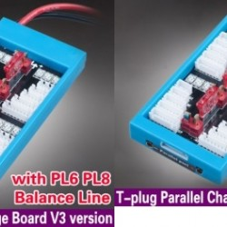 Parallel Charging Board with T Plug and with PL6 PL8 Balance Line