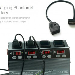SKYRC Charging Station for Phantom 3 and Phantom 4 Smart Battery