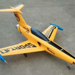 Diamond RC Foam Jet Kit with servos, landing gear, tank