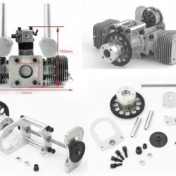 Combo MLD70 Gas Engine+ Starter Drive