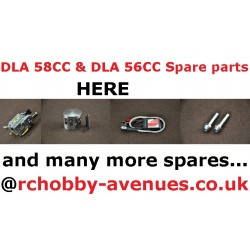 DLA 58CC engine Spare parts List