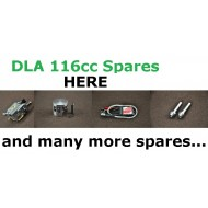 DLA 116CC parts list and prices
