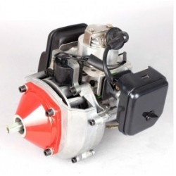 52CC Single Cylinder Gas Engine 2-Stroke with Water-cooling for RC Model Ship Boat