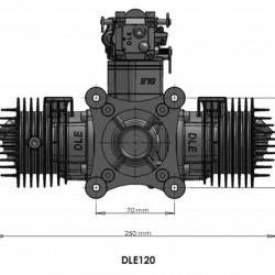 DLE-120CC Gas Engine