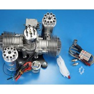 DLE-170M Power Umbrella Engine with electric starter