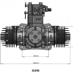 DLE-40 40CC Gas Engine