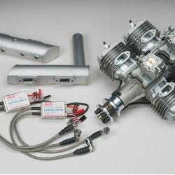 DLE-222 4-Cylinder Gas Engine