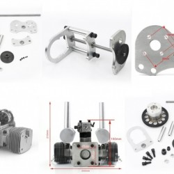 MLD70 Gas Engine + Starter Drive Combo Deal
