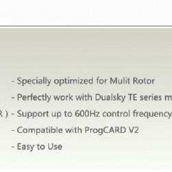 Dualsky XC-301-MR ESC x2